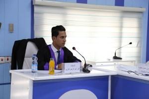 Read more about the article جانب من مناقشة الطالب اثير عبد الزهرة كريم