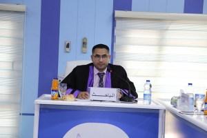 Read more about the article جانب من مناقشة الطالب محمد ربيع نعمه