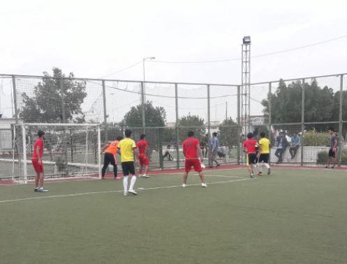 Read more about the article مباراة وديه بين طلبة قسم ادارة الاعمال