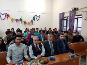 احتفالية طلابية بمناسبة مولد الامام علي عليه السلام