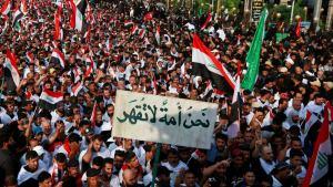 Read more about the article الاحتجاجات في العراق: احباط شعبي متزايد وعنف حكومي غير مبرر مع إجراءات إصلاحية غير موثوقة