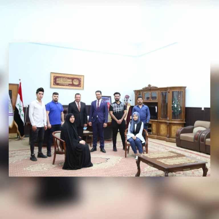 الأنشطة الطلابية في جامعة كربلاء بين التنمية الفكرية والمبادرات الإنسانية