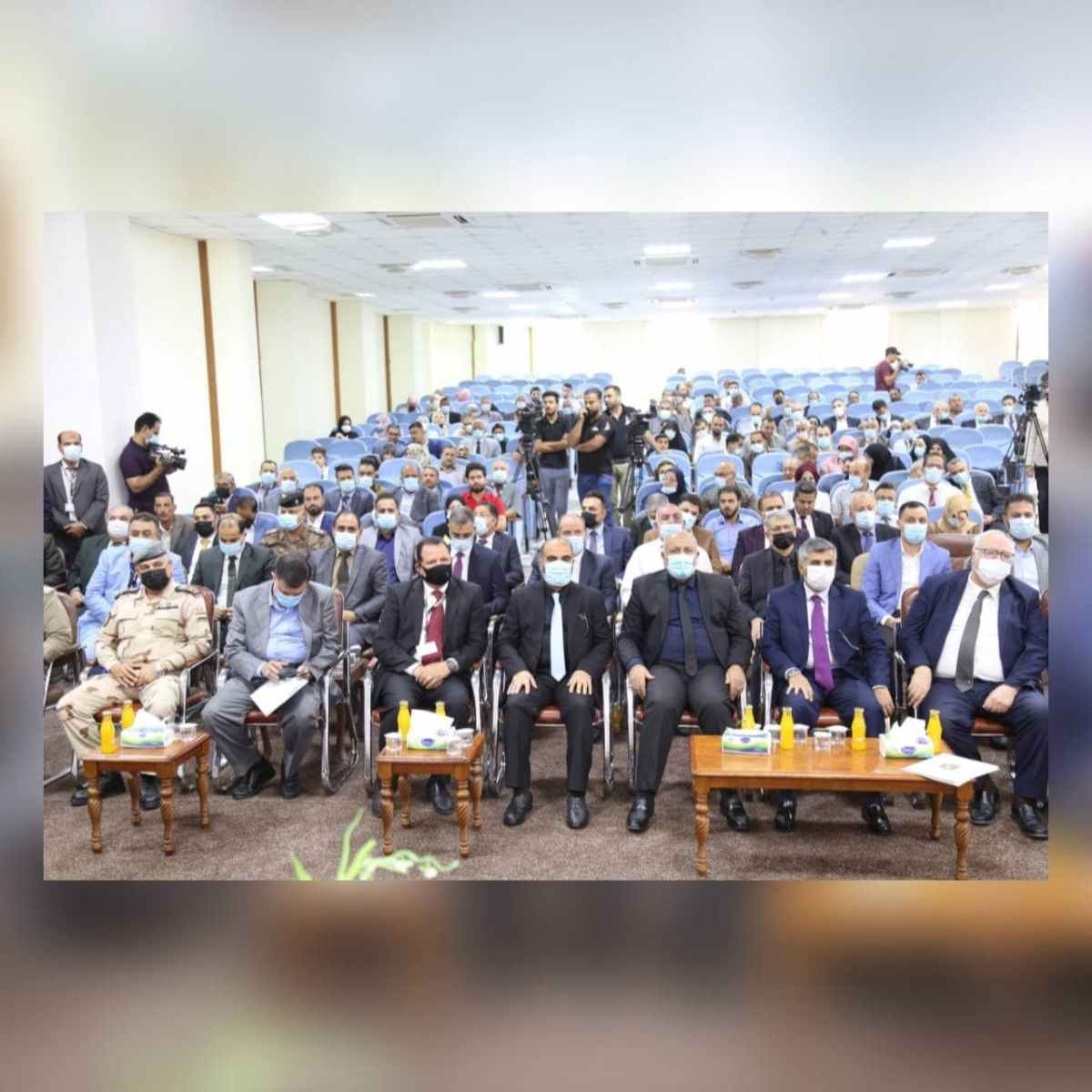 مؤتمر كلية الإدارة والاقتصاد الخامس عشر - مداخلة السيد محافظ كربلاء المقدسة الأستاذ نصيف الخطابي المحترم