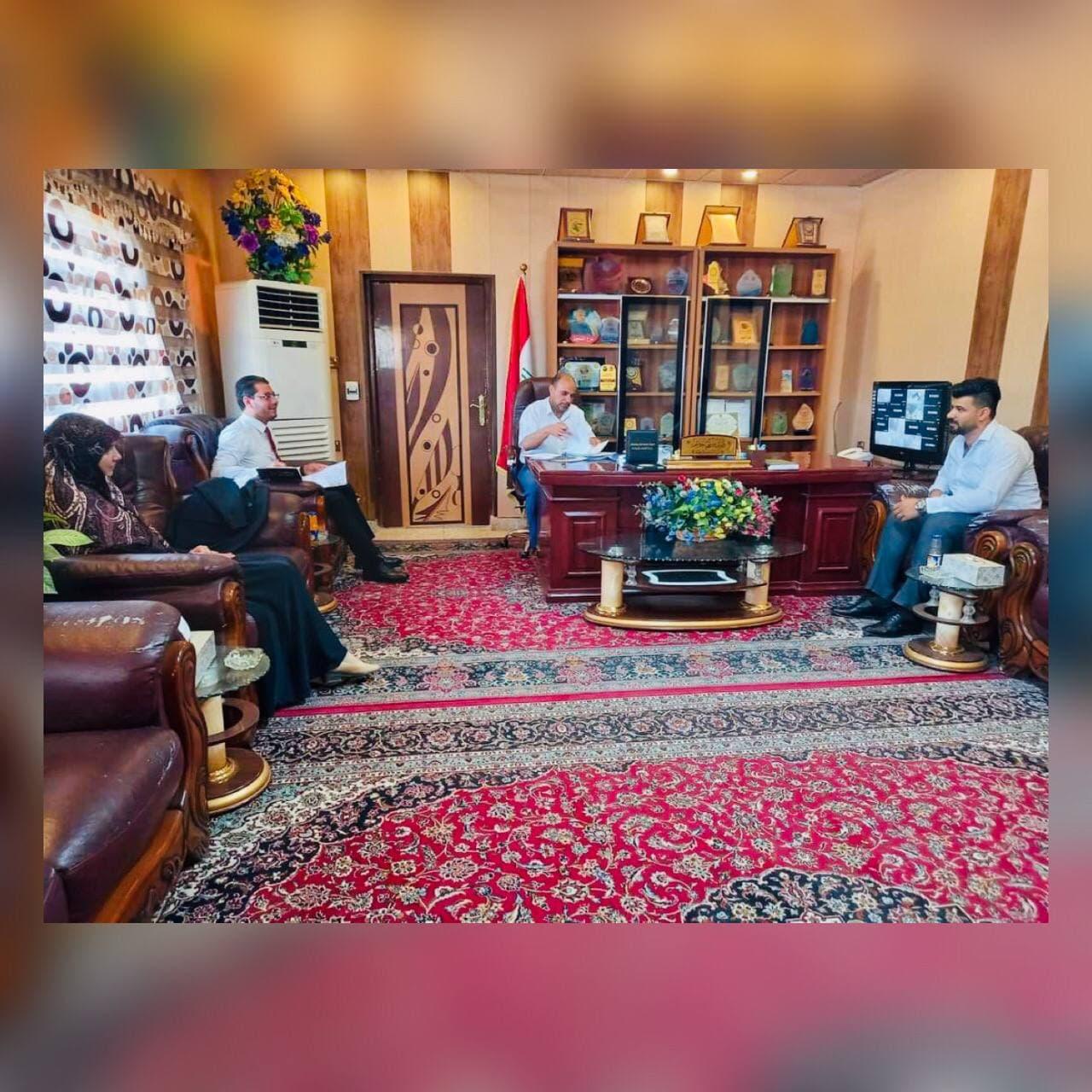 Read more about the article مشاركة تدريسي من جامعة كربلاء في عضوية اختيار الهيئة الاستشارية للشباب