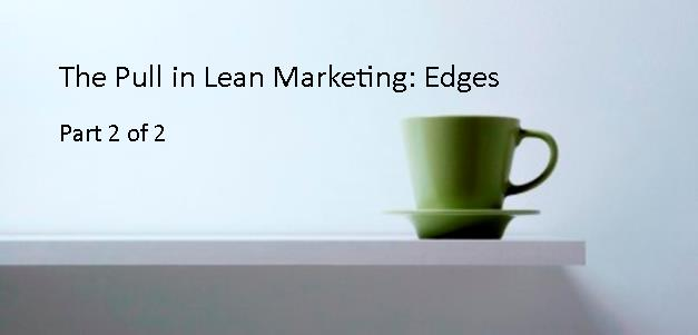 Pull in Lean Marketing
