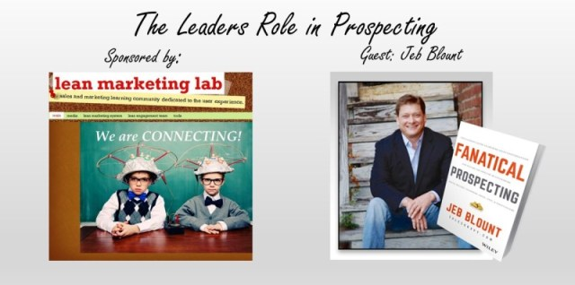 The Leaders Role in Prospecting