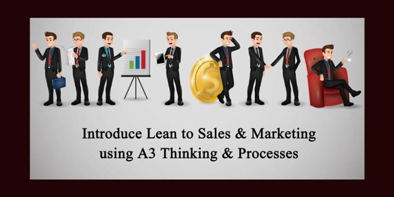 Lean in Sales & Marketing