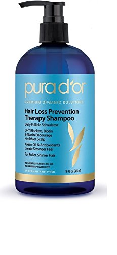 PURA D'OR Hair Loss Prevention Shampoo- hair growth shampoo