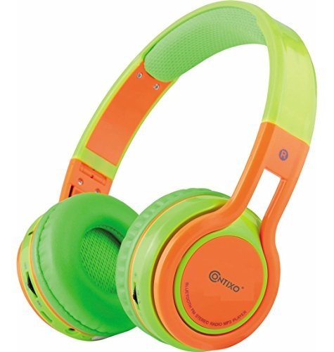 The Contixo Foldable Bluetooth Headphone- kid headphones