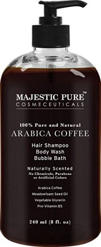 The Majestic Pure Arabica Coffee Hair Shampoo- hair growth shampoo