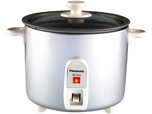 The Panasonic SR-3NA - rice cooker