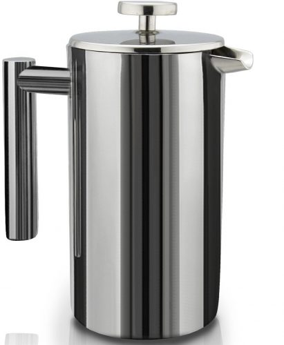 The SterlingPro Double Wall Stainless Steel French Coffee Press- French press coffee makers