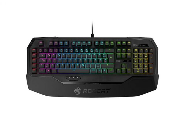 The Roccat Ryos MK FX-gaming keyboard
