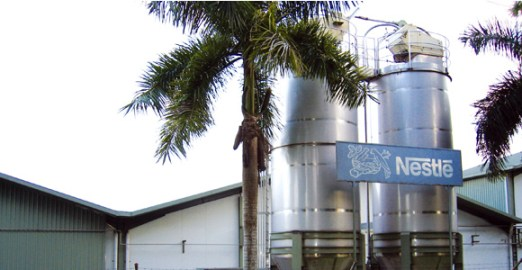 Nestlé's factory in Lae, Morobe Province. The Switzerland-based food giant has had a presence in the PNG market since the 1970s. Credit: Nestlé PNG