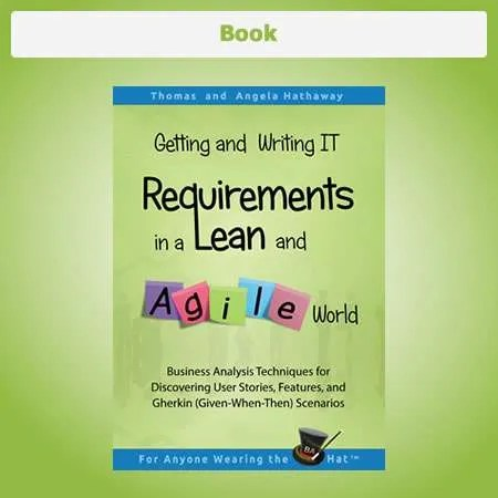 Book - Lean Agile User Stories and Features