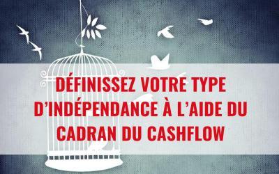 Pourquoi et comment définir le type d'indépendance que l'on désire grâce au Cadran du Cashflow
