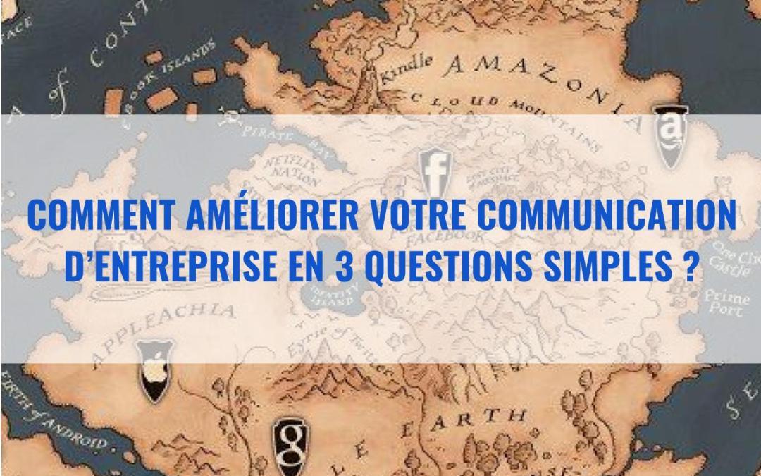 Comment améliorer votre communication en 3 questions simples