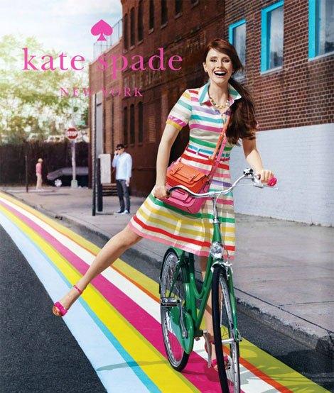 Bryce Dallas Howard Kate Spade Ads