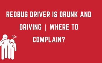 redBus driver is drunk and driving