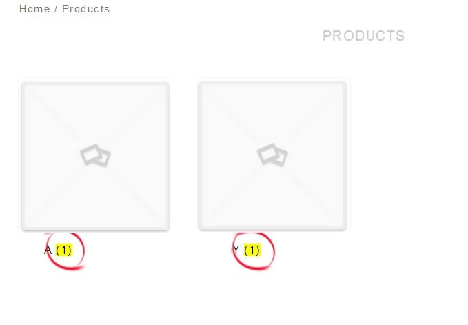 WooCommerce Category Counters