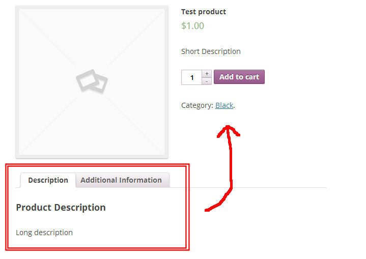 Move product tabs in WooCommerce