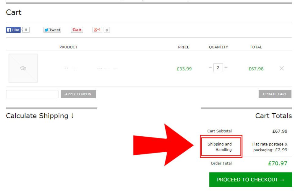 Editing the Cart page in WooCommerce