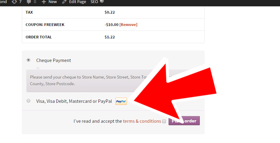 WooCommerce: how to change the PayPal icon on the checkout
