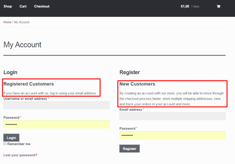 WooCommerce: Show Additional Content on the My Account Page