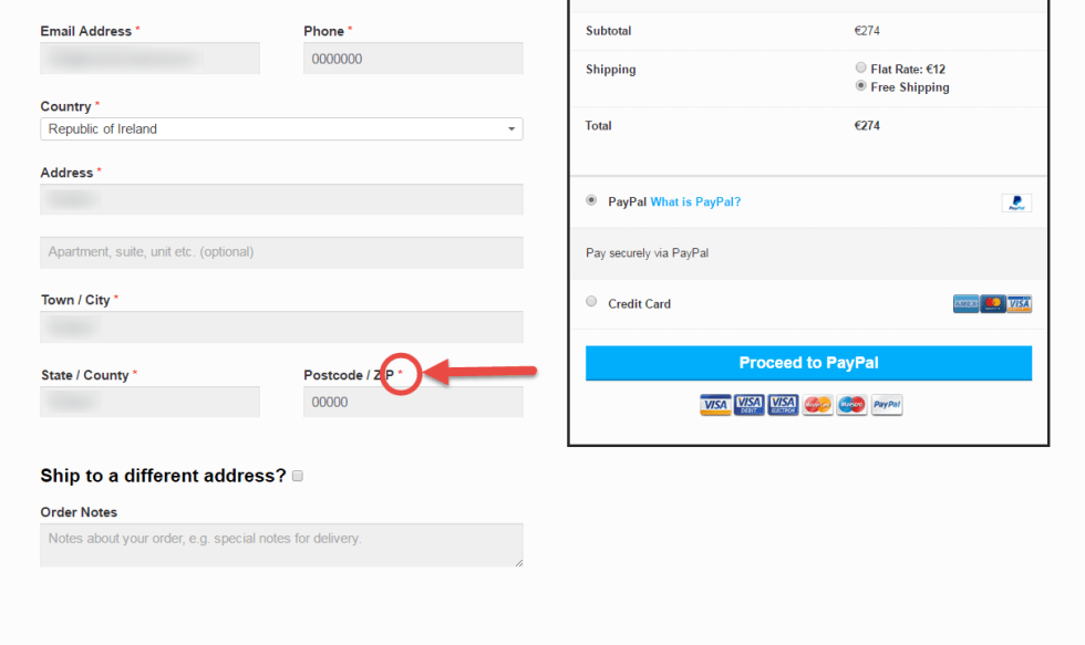 Disable Postcode/ZIP Validation @ WooCommerce Checkout