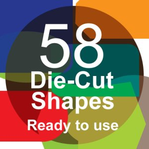 58 die-cut shape