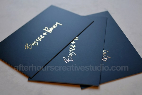matt-laminated-business-card-gold-foil