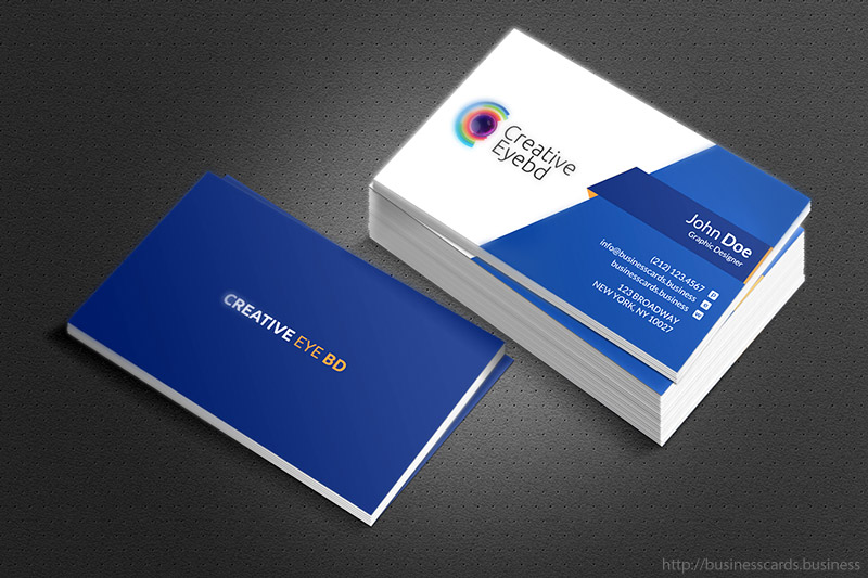 Free Eye BD Business Card Template   Business Cards Templates Free Eye BD Business Card Template