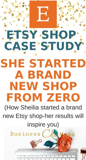 Etsy case study from scratch