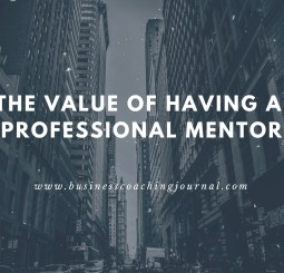 The Value of Having a Professional Mentor