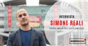 Intervista Simone Reali: esperto amazon fba e ceo lean sales