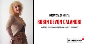 Coronavirus e Dropshipping: intervista a Robin Calandri, Brand Relations Manager di Udroppy