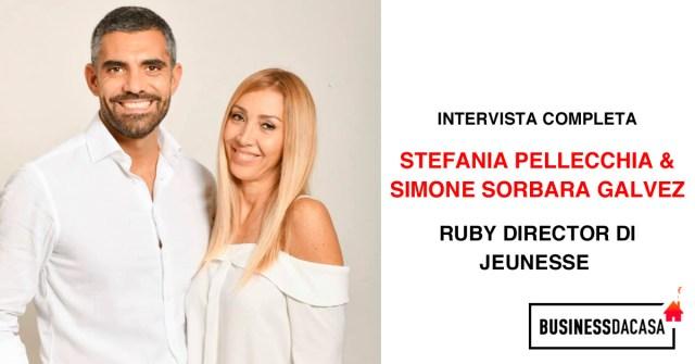 Stefania Pellecchia e Simone Sorbara Galvez