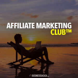 Affiliate Marketing Club COD White
