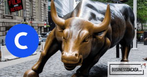 coinbase in wall street
