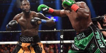 Heavyweight bangers go to war again as Wilder defends WBC belt against Ortiz - Businessday NG
