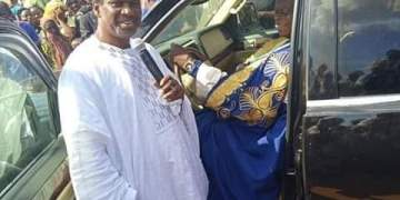 Bishop Sam Zuga Gifts King of Ejule Brand New Lincoln Navigator SUV - Businessday NG