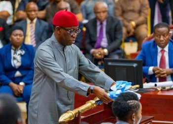 Okowa signs 2020 budget into law - Businessday NG