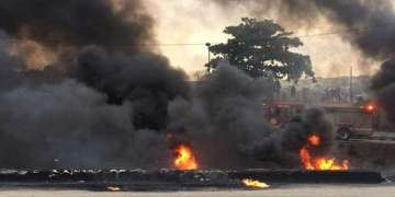 Several injured, vehicles damaged as explosion rocks Four Points By Sheraton Hotel in Lagos - Businessday NG