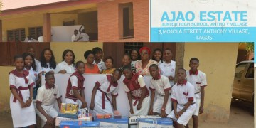 Basscomm Nigeria Ltd donates items to school in celebration of its CEO's 50th birthday
