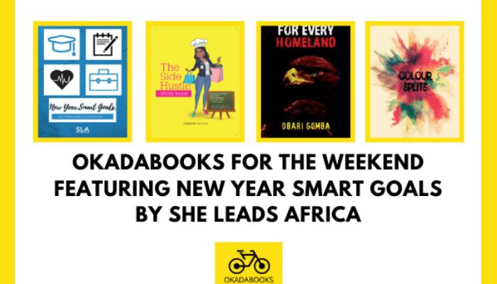 Okadabooks For The Weekend Featuring New Year Smart Goals -