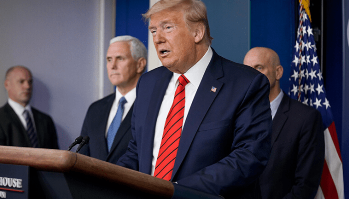 Trump says two antimalarial drugs to be approved for coronavirus treatment