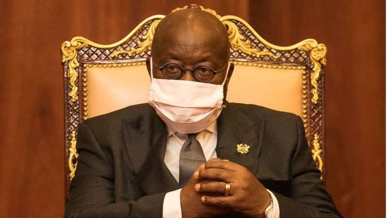 Ghanaian president goes into isolation after meeting COVID-19 patient - Businessday NG