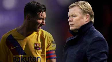 Koeman, Messi clash over changes to Barcelona squad