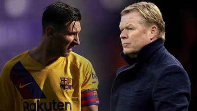 Koeman, Messi clash over changes to Barcelona squad