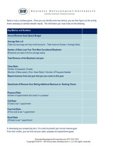 thumbnail of BDU Key Metrics and Numbers